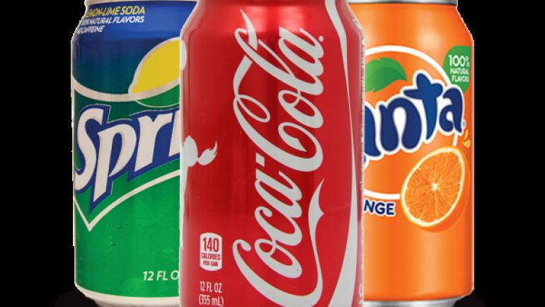 Coca-Cola, Fanta, Sprite