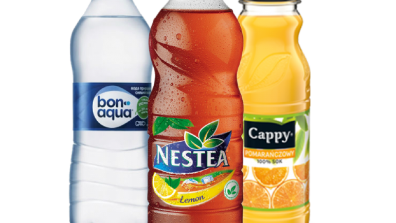 Nestea, Cappy, Bonaqua